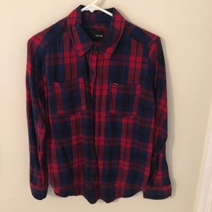 NWOT Hurley flannel